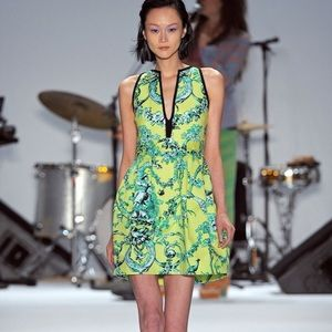 Nanette Lepore runway collection cocktail dress